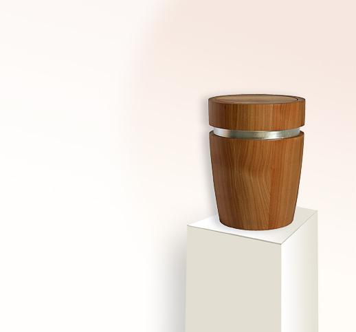 Edle Urne aus Holz kaufen | stilvolle-urnen.de